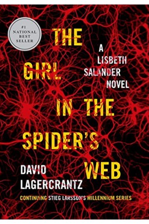 The Girl in the Spider's Web (front)