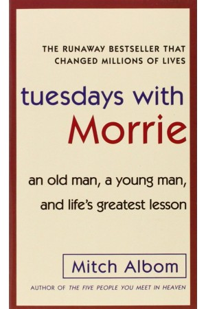 Tuesdays With Morrie (front)