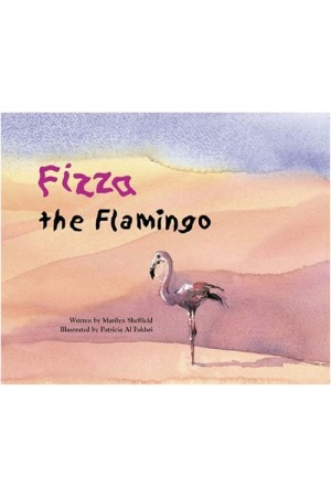 Fizza the Flamingo